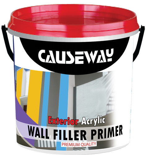 Causeway Acrylic Exterior Wall Filler Primer (Premium Quality) Image