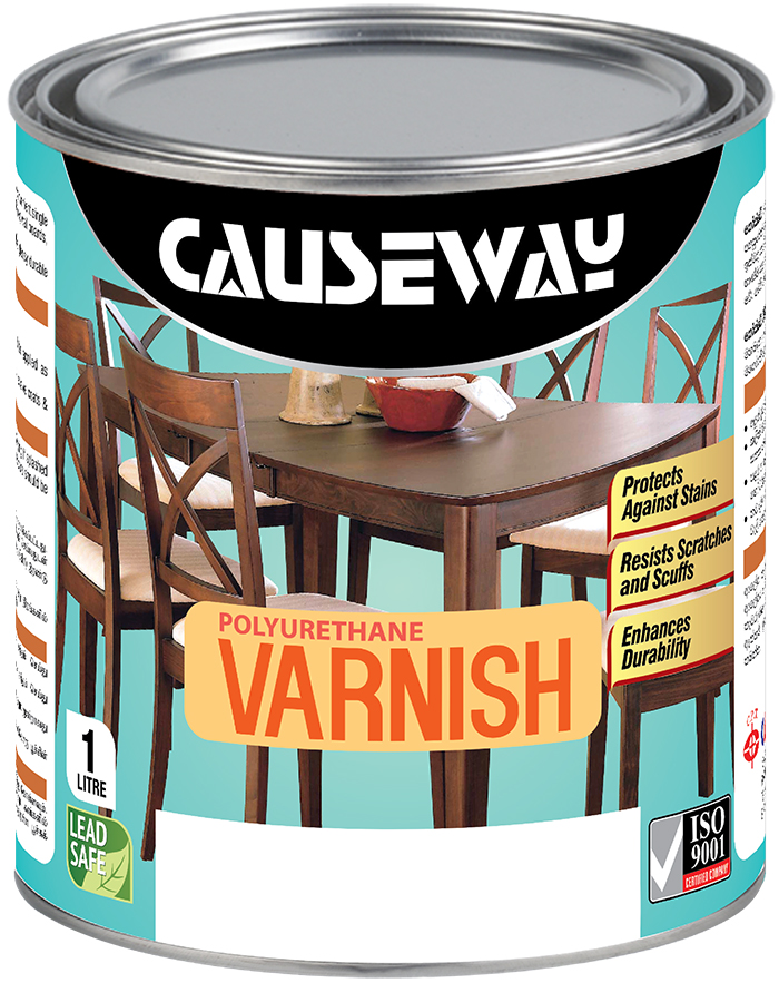 Causeway Polyurethane Varnish- Gloss Satin Image